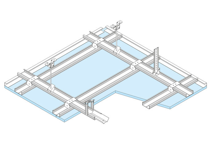 D11 techos suspendido continuo | Knauf