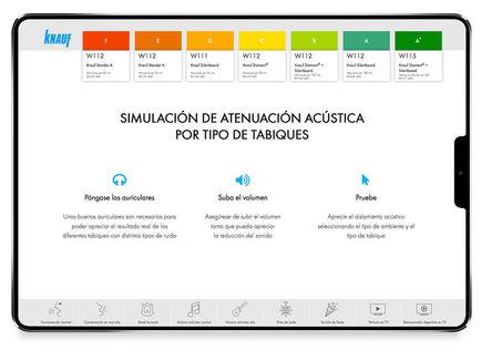 Aplicación de simulación acústica